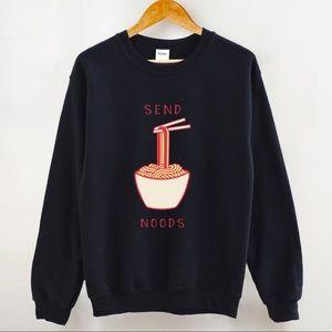 Gildan Send Noods Unisex Sweatshirt